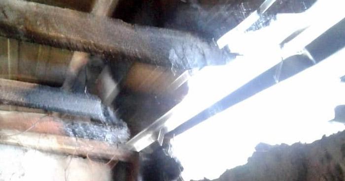 Evitan propagación de incendio en Asilo de Cojutepeque