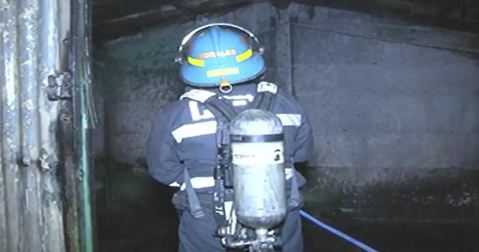 Bomberos extinguen incendio en vivienda de Cuscatancingo