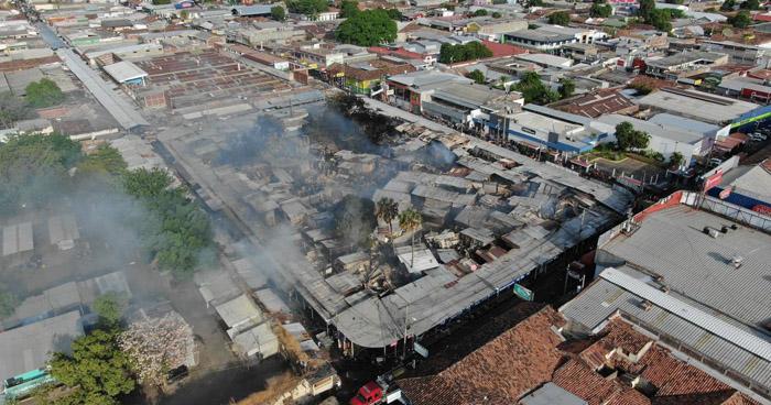 Fiscal General investigará si incendio en San Miguel fue provocado