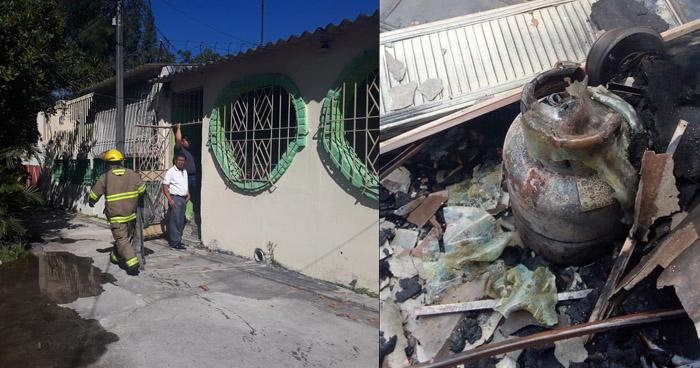 Hombre muere calcinado tras provocar incendio en vivienda  de Ilopango