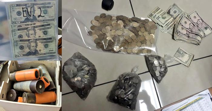 Más de $1,300 en efectivo, cocaína y armas entre lo incautados tras operativo en la zona sur de San Salvador