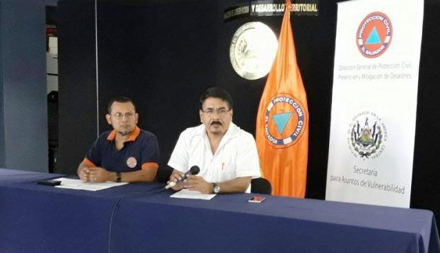 Protección Civil retira alerta amarilla a Pasaquina y Chalatenango, se mantiene Alerta Verde a nivel nacional