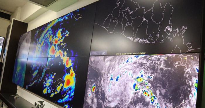 Iota se degrada a Depresión Tropical y continuará generando lluvias tipo temporal