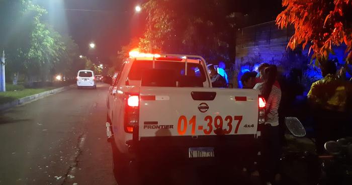 Joven fue asesinado frente a su esposa e hija en Mejicanos