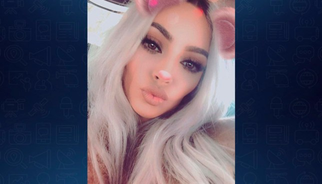 Kim Kardashian presenta a su tercer hija conel rapero Kanye West