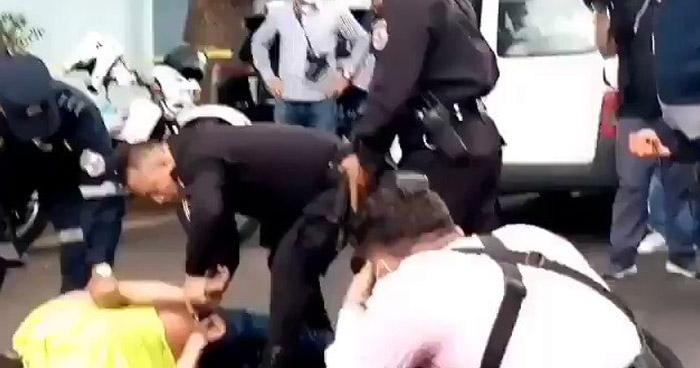 Capturan a supuesto ladrón frente al Ministerio de Salud