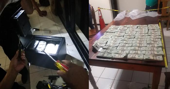 Capturan a lancheros guatemaltecos cuando transportaban más $117 mil en efectivo
