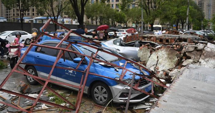 Al menos 44 muertos y 20 desaparecidos ha dejado el tifón Lekima en China