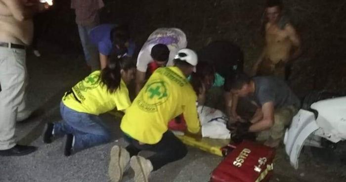 Conductor ebrio dejó dos lesionados tras provocar choque en Cabañas