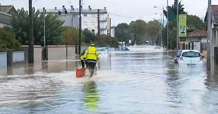 """Tormenta """"Leslie"""" deja al menos 13 personas muertas en el sur de Francia"""