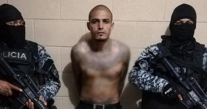 Capturan a lider de pandilla en San Juan Opico, La Libertad