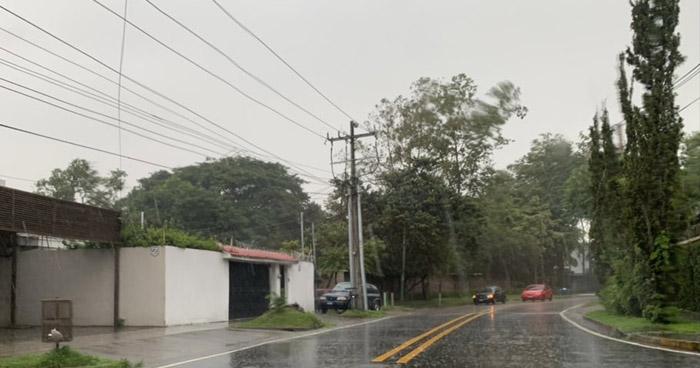Continuarán lluvias débiles sobre el territorio