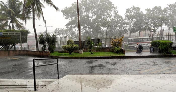 Se prevé aumento de lluvias para las próximas 48 horas, por influencia una nueva Onda Tropical