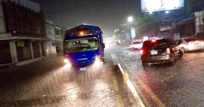 Protección Civil emite aviso por lluvias por el paso de una Onda Tropical