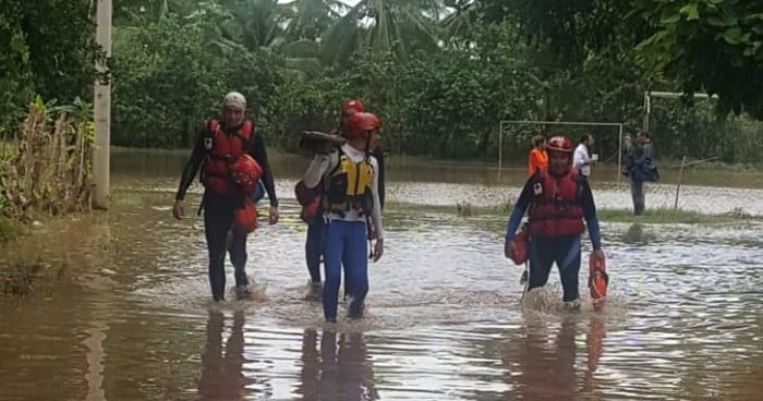 Más de 600 personas evacuadas, 25 ríos desbordados y 9 viviendas destruidas por lluvias
