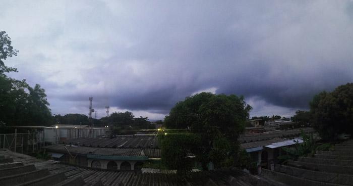 Continúan lluvias tipo temporal con énfasis en la zona norte y oriental del país