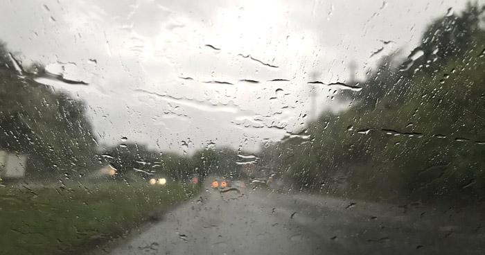 Probabilidad de lluvias débiles en la zona norte del país