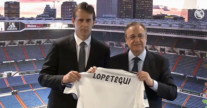 Presentan a Julen Lopetegui como nuevo entrenador del Real Madrid