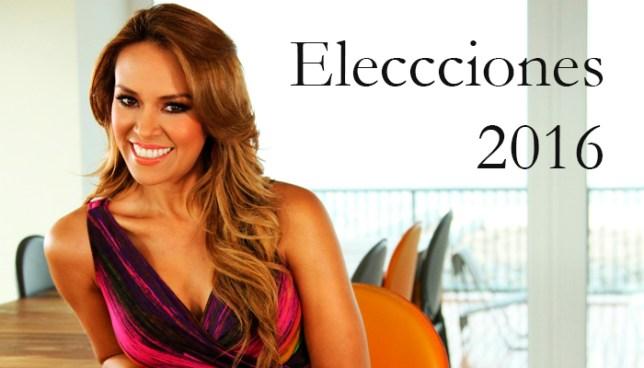 Luciana Sandoval duramente criticada por decir #Elecciones2016