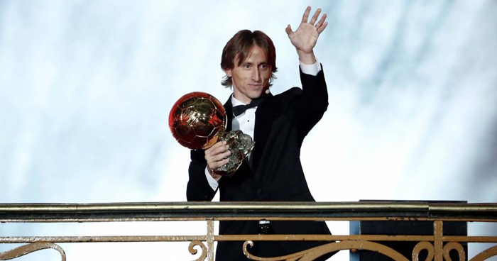 Ballon d'Or: Luka Modric arrasa y termina con el reinado de Messi y CR7