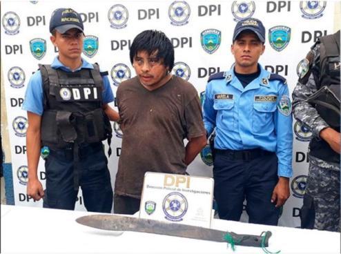 Hombre mata a machetazos a su padre en Honduras