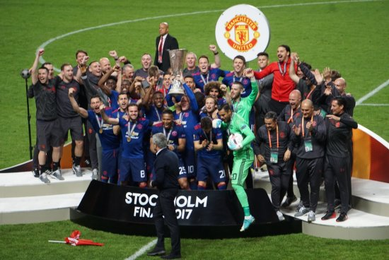 Manchester United es Campeón de la Europa League