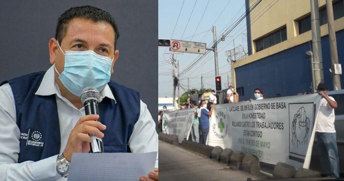 """Ministro de Trabajo sobre marcha en plena Cuarentena: """"solo una vez se conmemora el Día del Trabajador"""""""