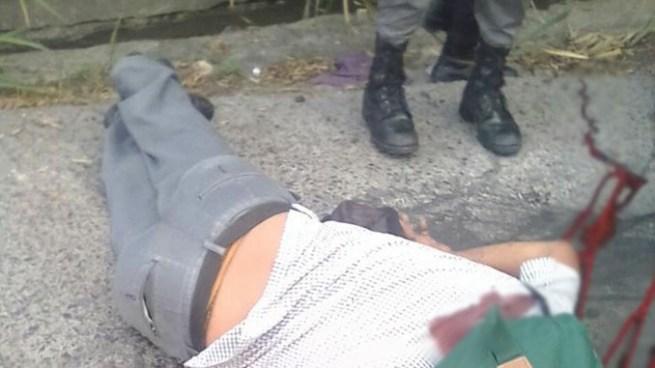 Pandillero mata a balazos a un hombre esta tarde en Mejicanos
