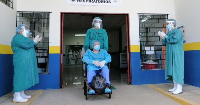 Un médico y un paciente que estuvo en UCI se recuperan de COVID-19