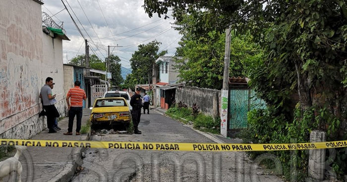 Asesinan a joven dentro de un taller automotriz en Mejicanos