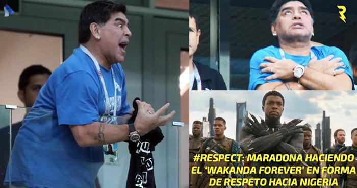 Los MEMES que dejó la victoria de Argentina ante Nigeria. Maradona se robó la atención