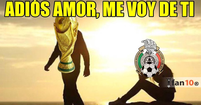 Los MEMES tras la eliminación de México del mundial Rusia 2018