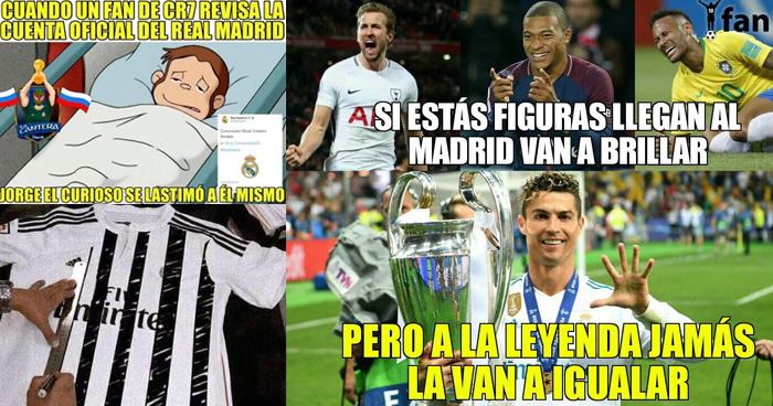 Memes de Cristiano Ronaldo tras dejar el Real Madrid y fichar por la Juventus