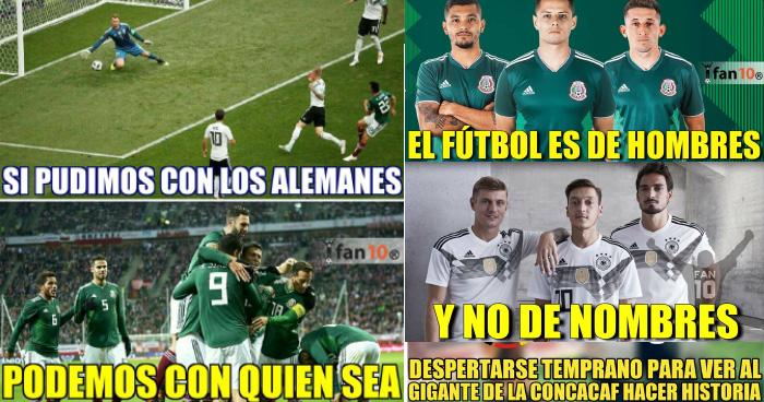 Los mejores memes de la victoria de México contra el campeón del mundo Alemania