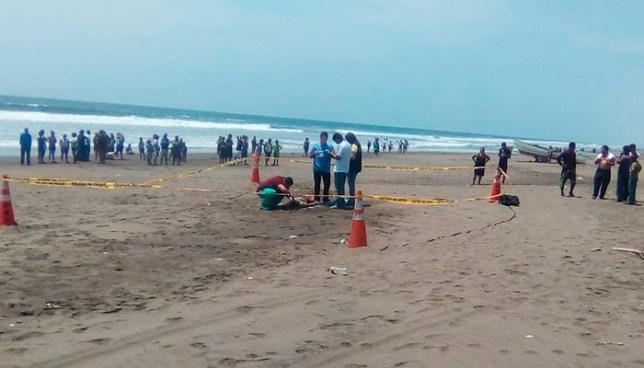 Menor de edad muere ahogada en la playa Metalío de Sonsonate