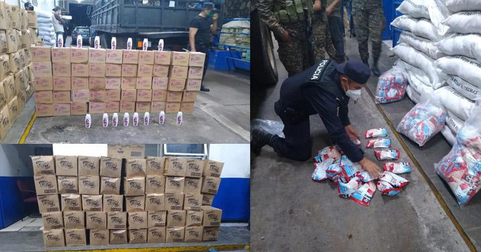 Capturados con mercadería de contrabando en La Unión