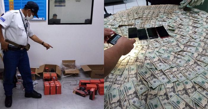 Interceptan a contrabandistas con repuestos automotrices y $7 mil en efectivo