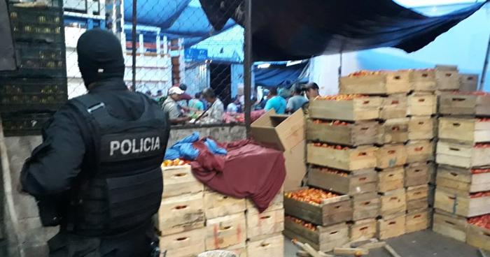 Pandilleros obtenían $50,000 mensuales de extorsión en el mercado la Tiendona