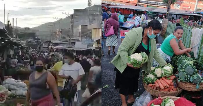 Calles y mercados abarrotados en primer día de reapertura económica