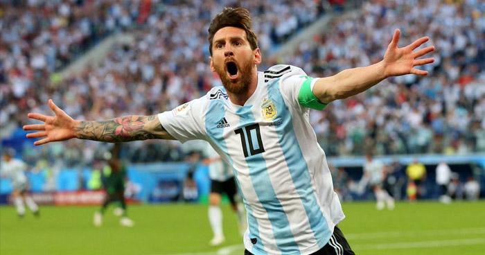 Argentina logra la hazaña y se clasifica a los octavos de final de Rusia 2018