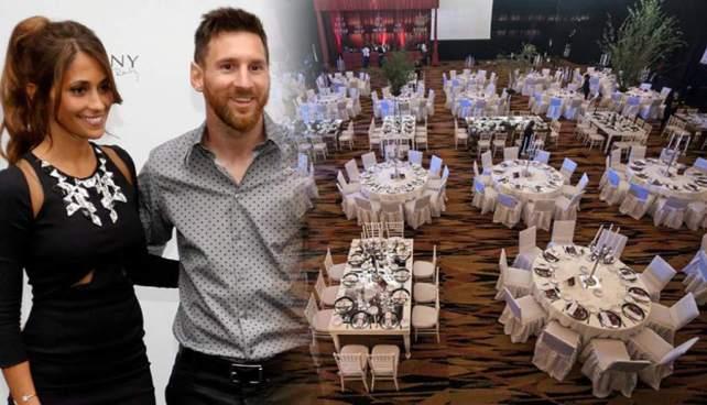 Allanan casino donde se casará Messi