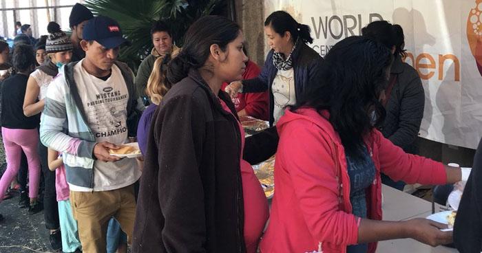 Desconocen el paradero de 3,000 migrantes de las caravanas albergados en Tijuana
