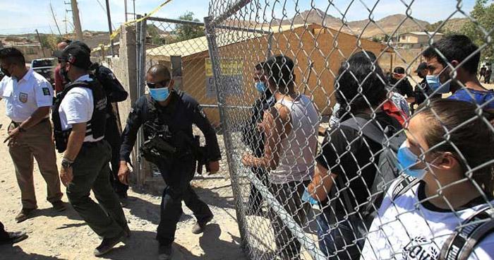 Salvadoreños entre 140 migrantes secuestrados cerca de la frontera de EE.UU.