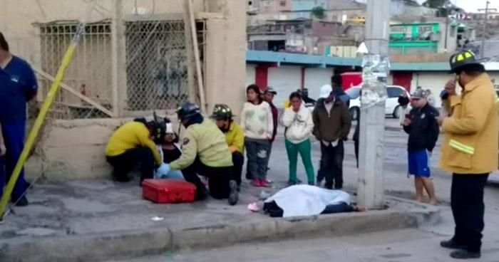 Migrante salvadoreño fallecido y otra lesionada tras ser atropellados en Tijuana, México