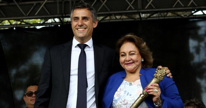 Milagro Navas, planea pedir permiso en la Alcaldía para dedicarse de lleno a la campaña presidencial