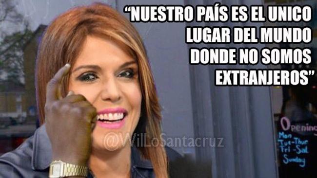 """Milena Mayorga: """"El Salvador es el único pais donde no somos extranjeros"""""""