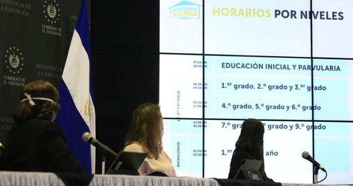 Ministerio de Educación lanza franja educativa por radio y televisión