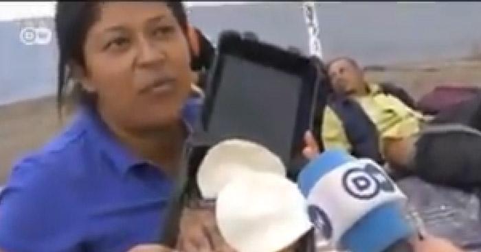 Reportan como desaparecida a la migrante hondureña que rechazó frijoles en México