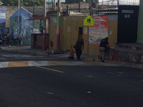 Doble homicidiofrente a centro juvenil de Ciudad Delgado