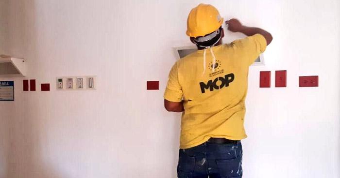 Dos empleados del Ministerio de Obras Públicas (MOP) han dado positivo a COVID-19